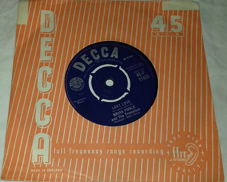 """Brian Poole & The Tremeloes - Twist Little Sister (7"""") (Decca)"""