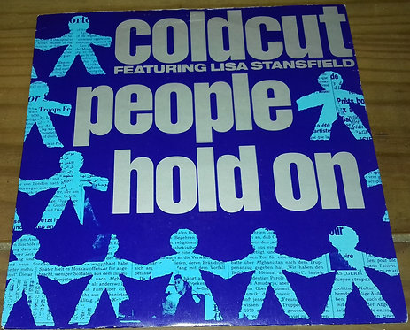 "Coldcut Featuring Lisa Stansfield - People Hold On (7"", Single, Blu) (Ahead Of"