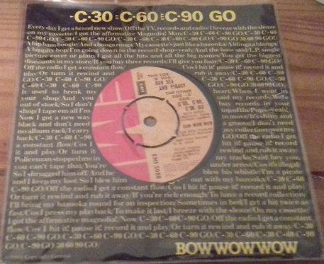 """Bow Wow Wow - C·30 C·60 C·90 Go (7"""", Single) (EMI)"""
