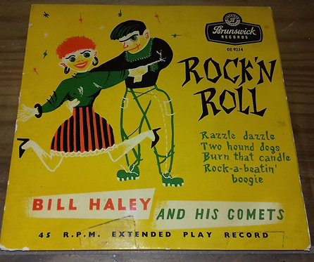 """Bill Haley And His Comets - Rock 'N Roll (7"""", EP, RP) (Brunswick)"""