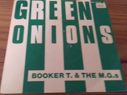 "Booker T & The MG's - Green Onions (7"", Single, RE) (Atlantic)"