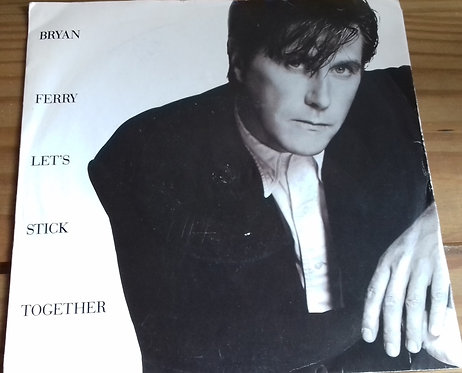 "Bryan Ferry - Let's Stick Together (7"", Single, Sil) (EG)"