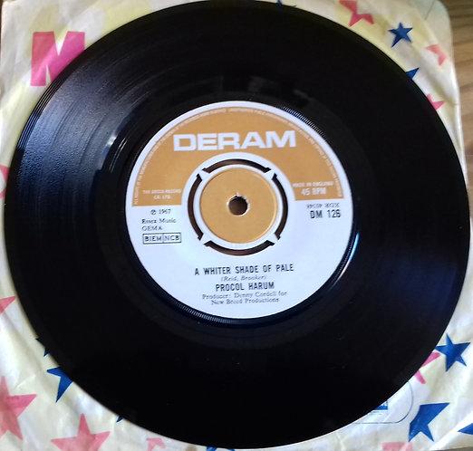 "Procol Harum - A Whiter Shade Of Pale (7"", Single) (Deram)"