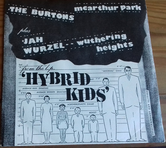 """The Burtons / Jah Wurzel - McArthur Park / Wuthering Heights (7"""", Single) ("""