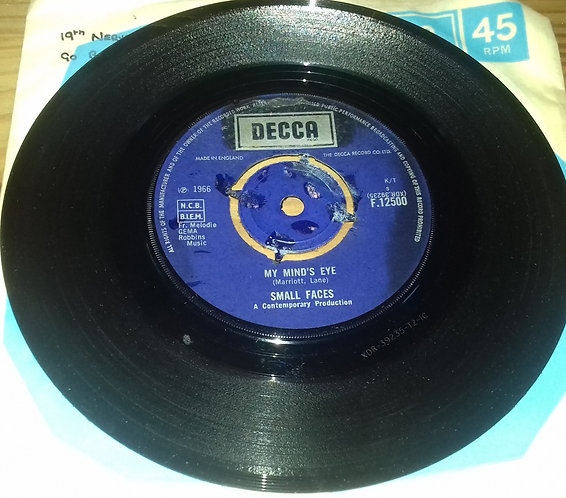 "Small Faces - My Mind's Eye (7"", Single) (Decca)"