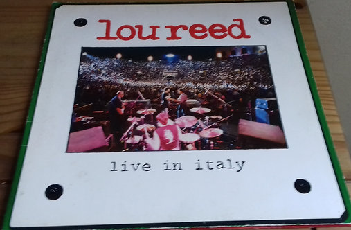 Lou Reed - Live In Italy (2xLP, Album, Gat) (RCA)