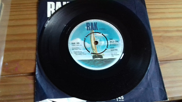 """Suzi Quatro - The Wild One (7"""", Single, Pus) (RAK)"""