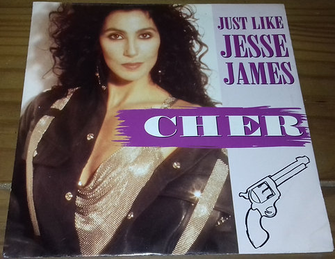 "Cher - Just Like Jesse James (7"", Single) (Geffen Records, Geffen Records)"