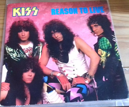 "Kiss - Reason To Live (7"", Single) (Vertigo, Phonogram)"