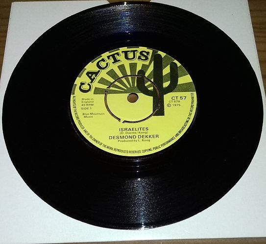 "Desmond Dekker - Israelites (7"", Single) (Cactus)"