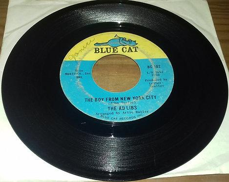 "The Ad Libs - The Boy From New York City / Kicked Around (7"", Single, Styrene) ("