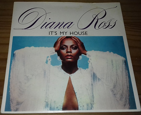 "Diana Ross - It's My House (7"", Single) (Motown)"