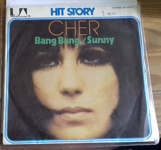 "Cher - Bang Bang / Sunny (7"", Single, RE) (United Artists Records, United Artist"