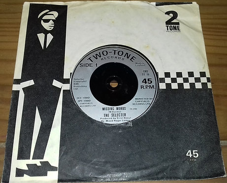 """The Selecter - Missing Words (7"""", Single) (Two-Tone Records)"""
