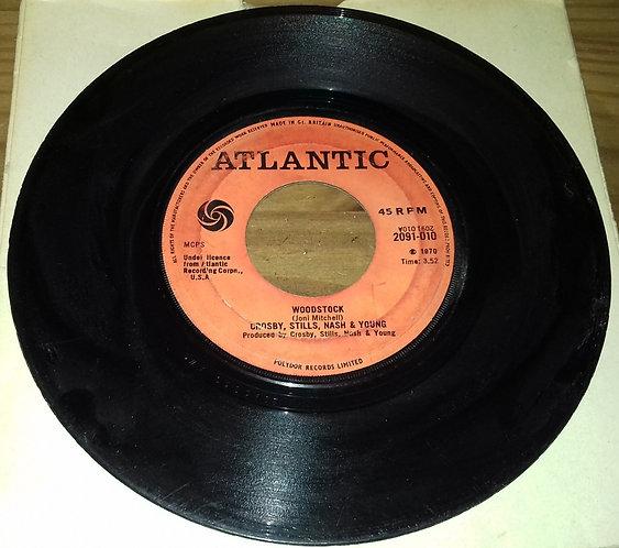 "Crosby, Stills, Nash & Young - Woodstock (7"") (Atlantic)"
