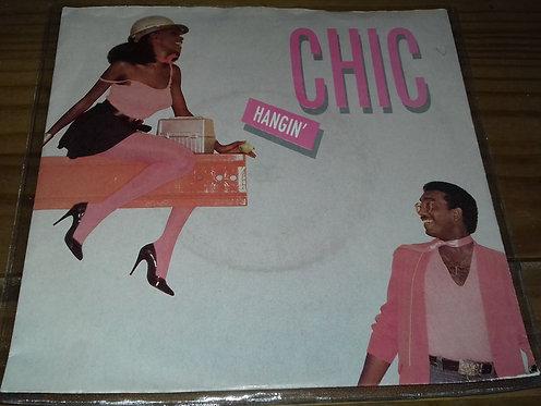 "Chic - Hangin' / City Lights (7"") (Atlantic, Atlantic)"