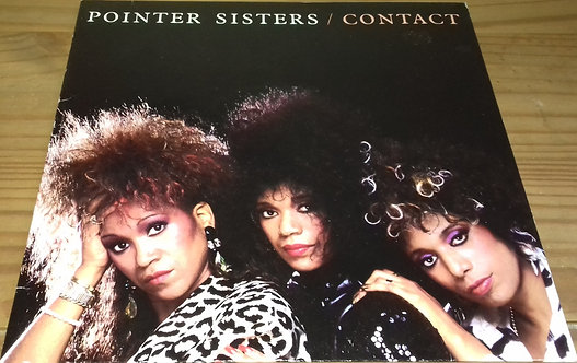Pointer Sisters - Contact (LP, Album) (RCA)
