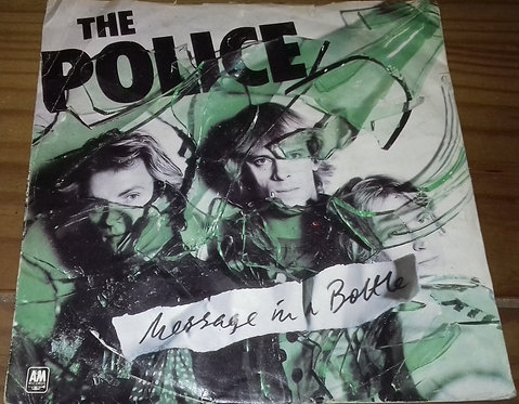 "The Police - Message In A Bottle (7"", Single, Gre) (A&M Records)"