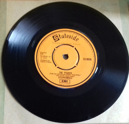 """Steppenwolf - The Pusher (7"""", Single) (Stateside)"""