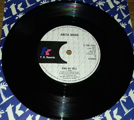 """Anita Ward - Ring My Bell (7"""", Single) (T.K. Records)"""