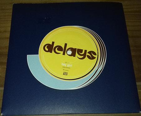 """Delays - Hey Girl (7"""", Single) (Rough Trade)"""