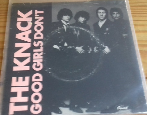 """The Knack  - Good Girls Don't (7"""", Single) (Capitol Records)"""