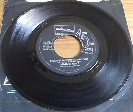 "Marvin Gaye - I Heard It Through The Grapevine (7"", Single, Lab) (Tamla Motown)"