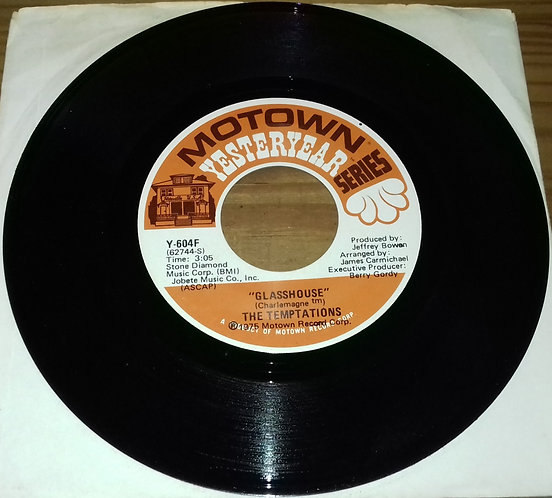 """The Temptations - Glasshouse / Up The Creek Without A Paddle (7"""") (Motown)"""