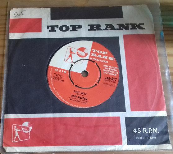 """Bert Weedon - Sorry Robbie / Easy Beat (7"""", Single) (Top Rank International)"""