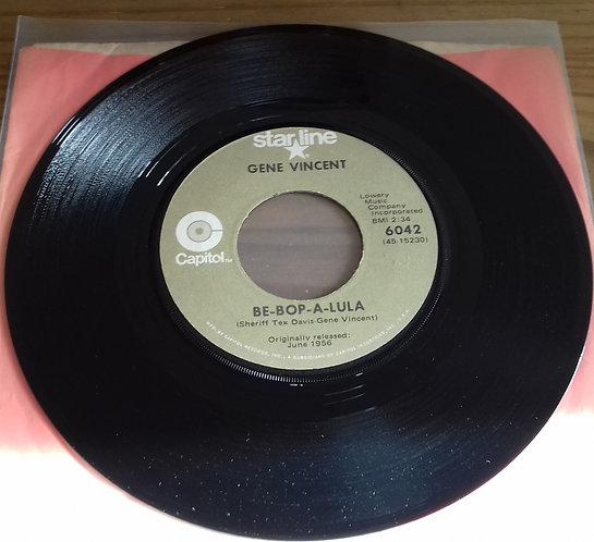 "Gene Vincent - Be-Bop-A-Lula (7"") (Starline, Capitol Records)"