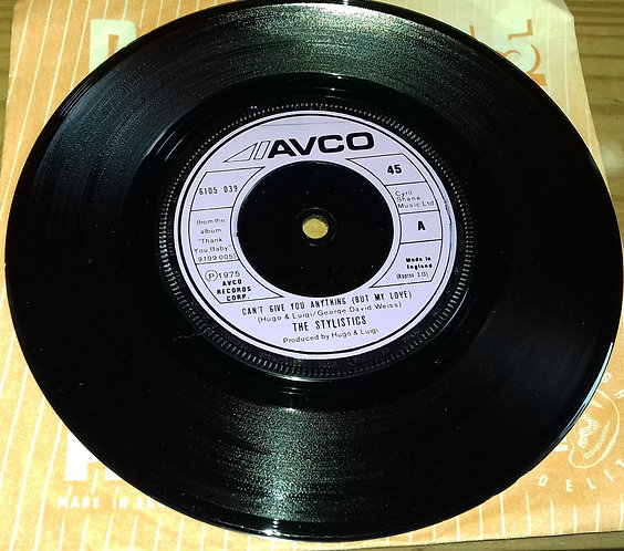 """The Stylistics - Can't Give You Anything (But My Love) (7"""", Single, Eng) (Avco)"""