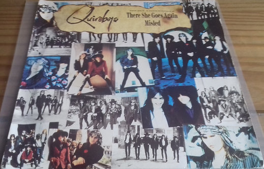 """Quireboys* - There She Goes Again / Misled (7"""", Single) (Parlophone, Parlophone)"""