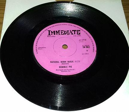 "Humble Pie - Natural Born Bugie (7"", Mono, Sol) (Immediate)"