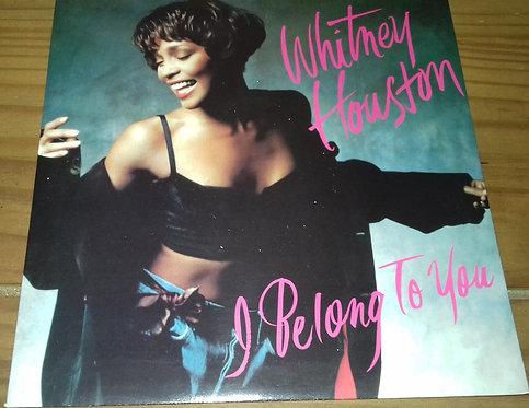 "Whitney Houston - I Belong To You (7"") (Arista)"