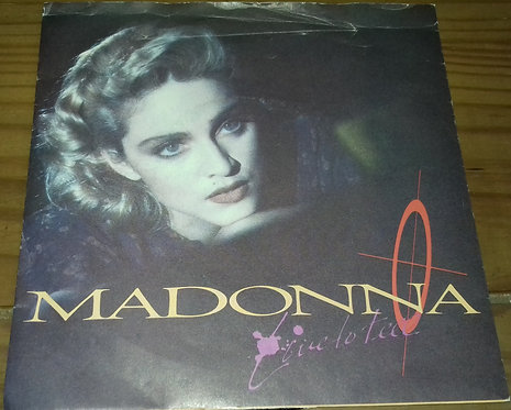 """Madonna - Live To Tell (7"""", Single, Pap) (Sire, Sire, Sire, Sire)"""