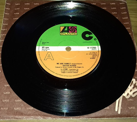 "Sister Sledge - We Are Family (7"", Single) (Atlantic, Cotillion)"