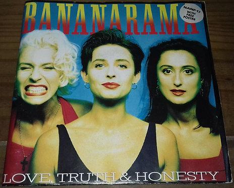 """Bananarama - Love, Truth & Honesty (7"""", Single, Pos) (London Records, London Rec"""