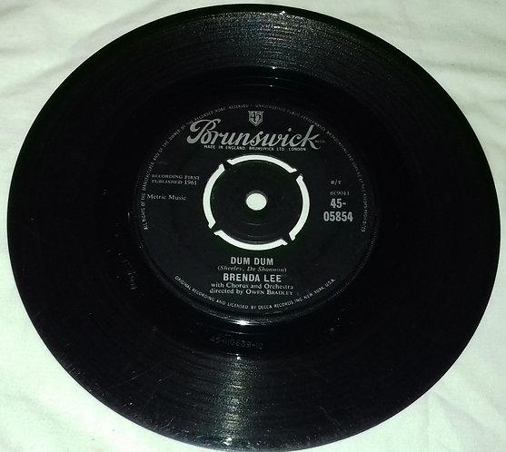 "Brenda Lee - Dum Dum (7"", Single) (Brunswick)"