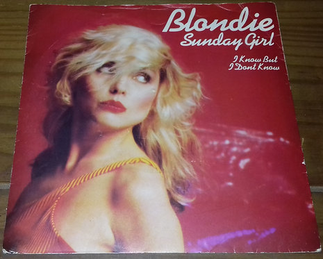 "Blondie - Sunday Girl (7"", Single, Sil) (Chrysalis)"