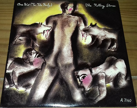 """The Rolling Stones - One Hit (To The Body) (7"""", Single) (Rolling Stones Records)"""