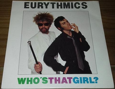"""Eurythmics - Who's That Girl? (7"""", Single, Sol) (RCA, RCA)"""