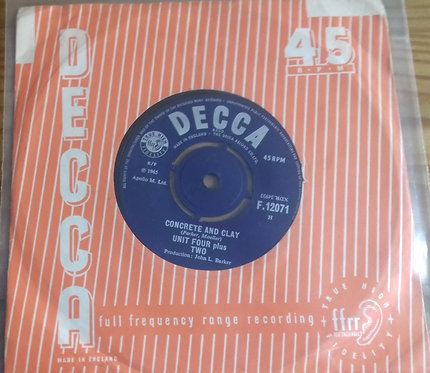"Unit Four Plus Two - Concrete And Clay (7"", Single) (Decca)"