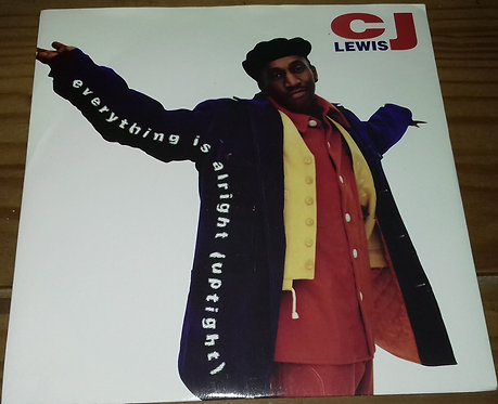 """CJ Lewis - Everything Is Alright (Uptight) (7"""", Single) (MCA Records)"""