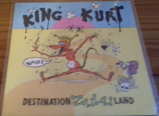 "King Kurt - Destination Zululand (7"", Single) (Stiff Records)"