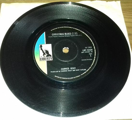 "Canned Heat - Christmas Blues (7"", Single, Sol) (Liberty)"