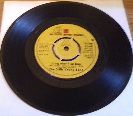 """The Stills-Young Band - Long May You Run (7"""", Single, Pus) (Reprise Records, Rep"""