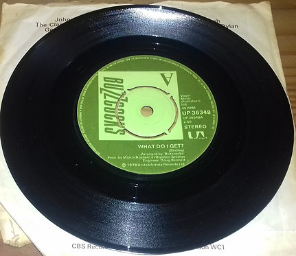 "Buzzcocks - What Do I Get? (7"", Single) (United Artists Records)"