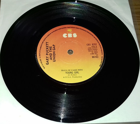"""Gary Puckett And The Union Gap* - Young Girl (7"""", Single) (CBS)"""