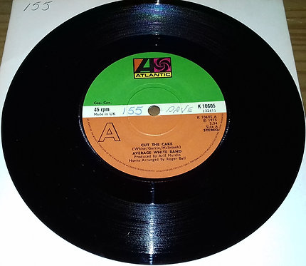 "Average White Band - Cut The Cake (7"") (Atlantic)"