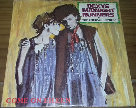 """Dexys Midnight Runners & The Emerald Express - Come On Eileen (7"""", Single, Sil)"""